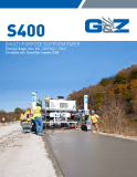 S600 Multi-Purpose Slipform Paver