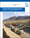 Concrete Canal Lining Equipment