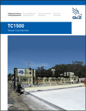 TC1500 Texture Cure Machine Brochure