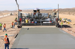 Slipform Paver Operations with EGON