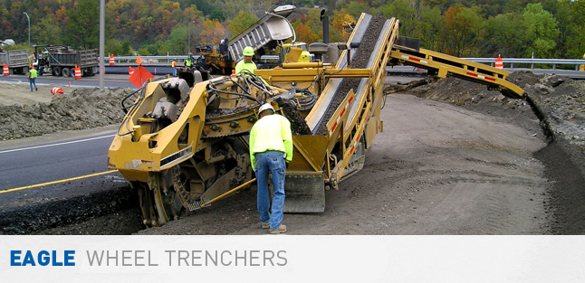 Eagle Bucket Wheel Trenchers
